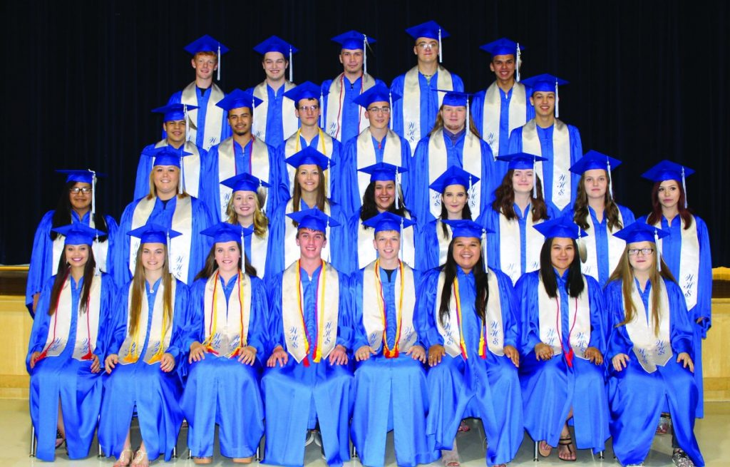 waubun class of 2018 cap and gown